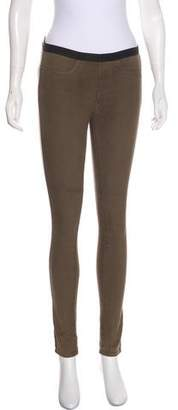 Helmut Lang HELMUT Mid-Rise Coated Jeans