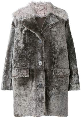 Sylvie Schimmel mid-length buttoned coat