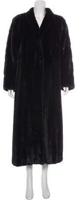 Mink Fur Duster Coat