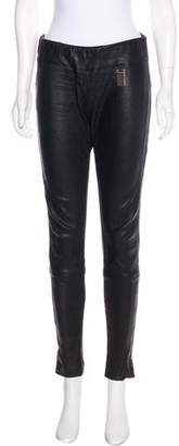 Thomas Wylde Leather Skinny Pants