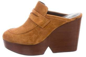 Robert Clergerie Clergerie Paris Suede Damor Mules w/ Tags