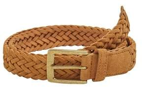 Mango Man MANGO MAN Braided leather belt