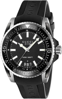 Gucci Dive, 45mm $1,090 thestylecure.com