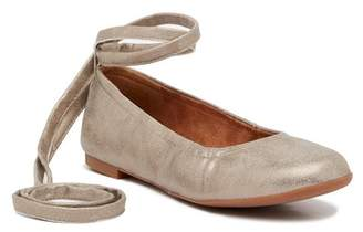 BC Footwear Have A Heart Ankle Tie Flat
