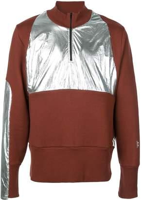 Oakley By Samuel Ross colour block half-zip sweatshirt