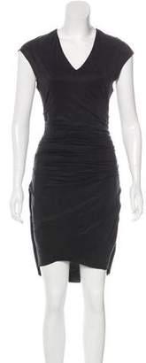 Helmut Lang Sleeveless Knee-Length Dress