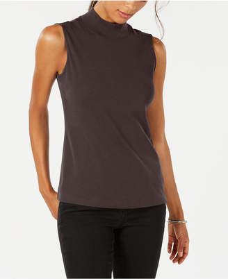 Karen Scott Sleeveless Mock-Neck Top, Created for Macy's