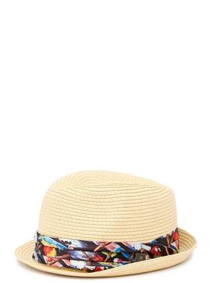 Nick Graham Novelty Straw Fedora