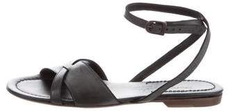 Henry Beguelin Leather Ankle Strap Sandals w/ Tags
