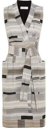 Victoria Beckham Victoria Wrap-Front Jacquard Dress