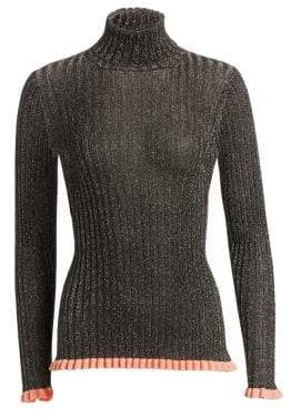 Chloé Rib-Knit Turtleneck