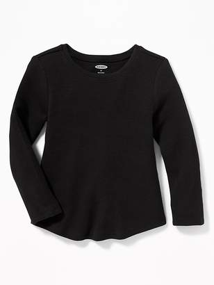 Old Navy Soft-Washed Thermal-Knit Tee for Toddler Girls