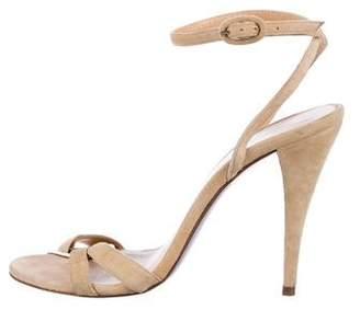 Pedro Del Hierro Suede Open-Toe Sandals