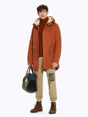 Scotch & Soda Teddy Lined Parka