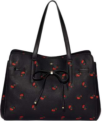 Nica Bow tie grab tote