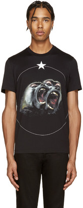 Givenchy Black Monkey Brothers T-Shirt $555 thestylecure.com