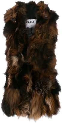 S.W.O.R.D 6.6.44 fox fur gilet