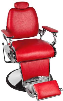 Jeff & Co. Jeffco Jaguar Red Barber Chair