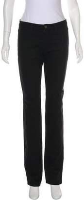 Burberry Mid-Rise Straight-Leg Pants