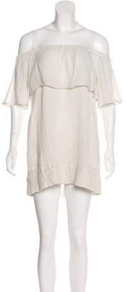 Raquel Allegra Off-the-Shoulder Mini Dress w/ Tags