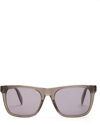 Alexander McQueen D-frame sunglasses