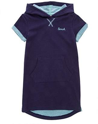 Bench Girl's Ss Hooded Dress,(Manufacturer Size: 9-10)