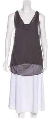 Haute Hippie Silk Drape Dress