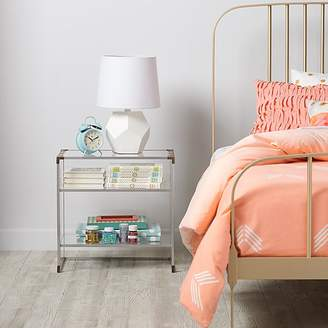 Crystal Clear Nightstand $399 thestylecure.com