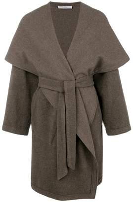Dusan belted oversized coat