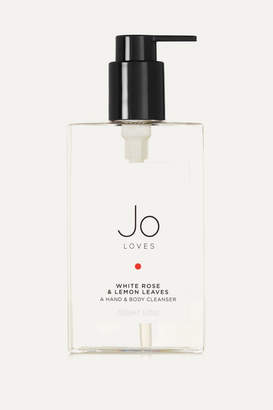 Jo Loves White Rose & Lemon Leaves Hand & Body Cleanser, 200ml