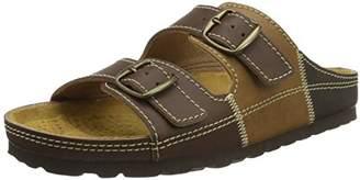 Lico Men's Natural Man Low-Top Slippers, Brown Braun/Beige
