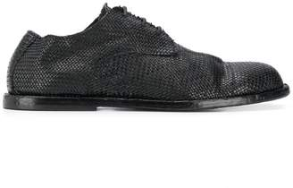 Ann Demeulemeester flat lace-up shoes