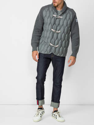 Moncler Quilted toggle cardigan