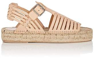 Loeffler Randall Women's Reid Leather Espadrille Sandals