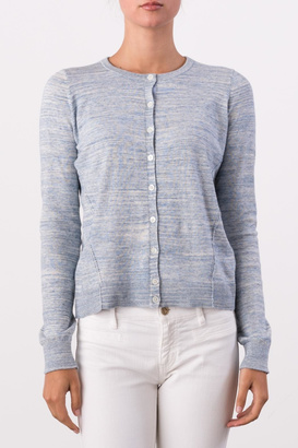 Margaret O'Leary Button-Down Cardigan $155 thestylecure.com