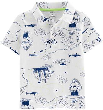 Carter's Short Sleeve Polo Shirt - Baby Boys