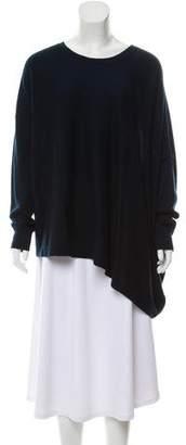 AllSaints Asymmetrical Merino Wool Sweater