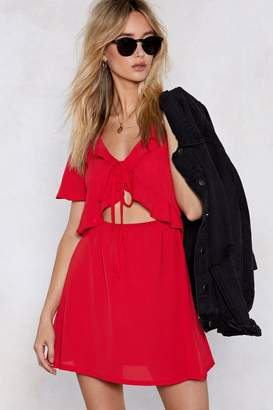 Nasty Gal Things Will Work Cut-Out Dress