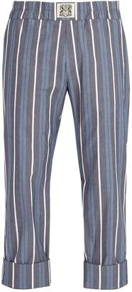 Blend of America CONNOLLY Striped cotton trousers