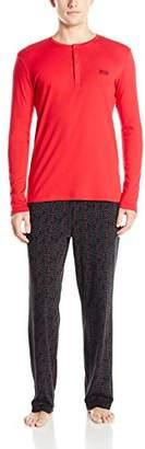 HUGO BOSS BOSS Men's Relax Jersey Two-Piece Pajama Set