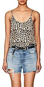 ATM Anthony Thomas Melillo Women's Leopard-Print Silk Cami
