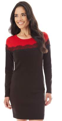Apt. 9 Women's Lace Accent Sweaterdress