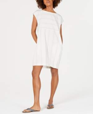 Eileen Fisher Striped Boat-Neck Dress, Regular & Petite, Created for Macy's