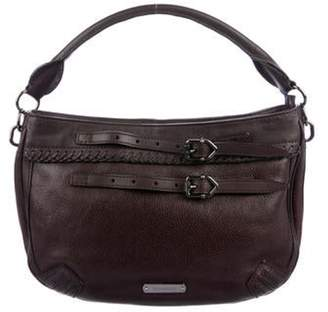 Burberry Grained Leather Satchel black Grained Leather Satchel