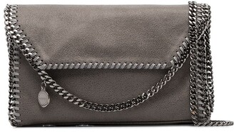 Stella McCartney grey Falabella faux leather Mini Shoulder Bag