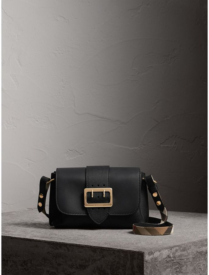 Burberry The Buckle Crossbody Bag in Leather