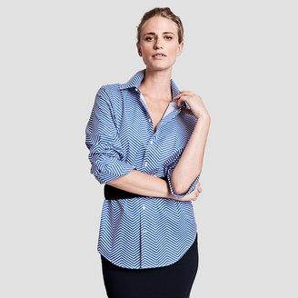 Darcy Herringbone Shirt $175 thestylecure.com