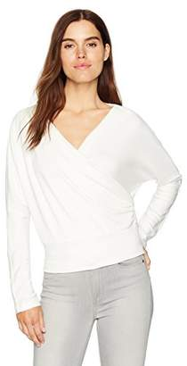 Kenneth Cole Women's Dolman Crossover Top