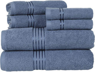 Co The Twillery 6-Piece Egyptian-Quality Cotton Towel Set