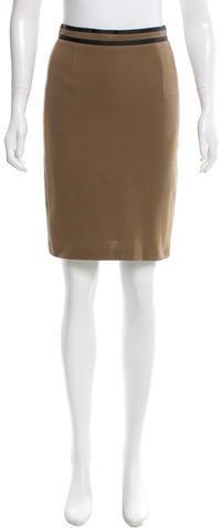 Max MaraMaxMara Knee-Length A-Line Skirt